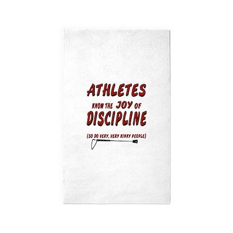 The joy of discipline 3'x5' Area Rug
