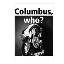 Columbus, who? Postcards (Package of 8)