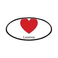 Leanna Big Heart Patches