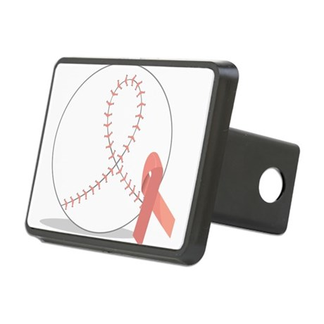Baseball for Breast Cancer Hitch Cover