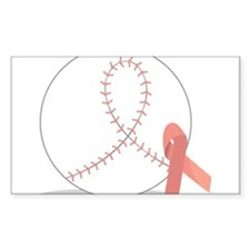 Baseball for Breast Cancer Decal