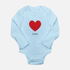 Lena Big Heart Body Suit