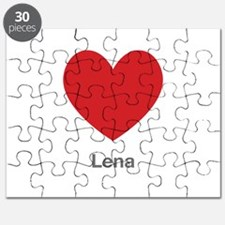 Lena Big Heart Puzzle