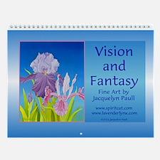 """""""Vision and Fantasy"""" Wall Calendar"""