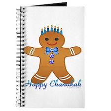 Chanukah Gingerbread Man Journal