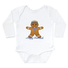 Chanukah Gingerbread Man Body Suit