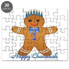 Chanukah Gingerbread Man Puzzle