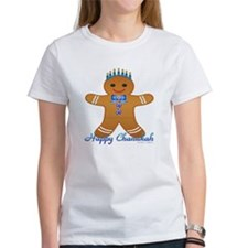 Chanukah Gingerbread Man T-Shirt