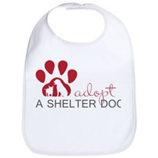 Adopt a Shelter Dog Bib