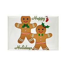 Gingerbread Man - Boy Girl Rectangle Magnet