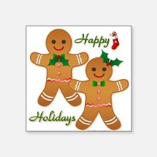 Gingerbread Man - Boy Girl Sticker