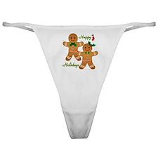 Gingerbread Man - Boy Girl Classic Thong