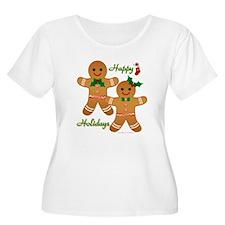 Gingerbread Man - Boy Girl Plus Size T-Shirt