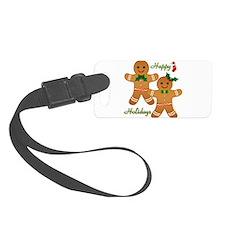Gingerbread Man - Boy Girl Luggage Tag