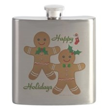 Gingerbread Man - Boy Girl Flask