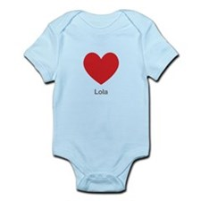 Lola Big Heart Body Suit