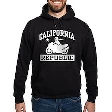 California Republic female Biker Hoody