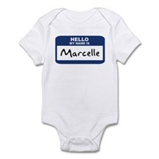 Hello: Marcelle Infant Bodysuit