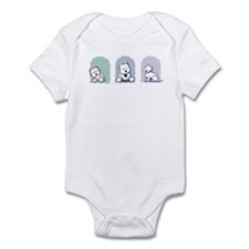 Pastel Westie Trio Infant Bodysuit