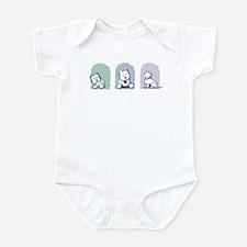 Pastel Westie Trio Infant Bodysuit