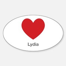 Lydia Big Heart Decal