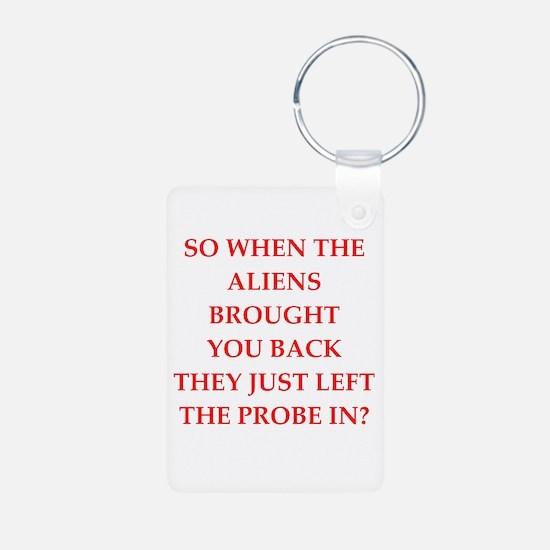 aliens Keychains