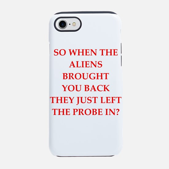 aliens iPhone 7 Tough Case