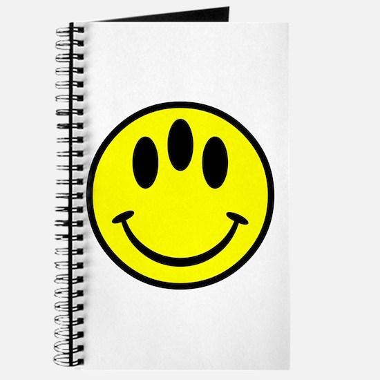 Evolution Happy Face Journal