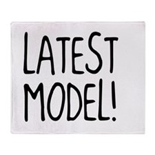 Latest Model Throw Blanket
