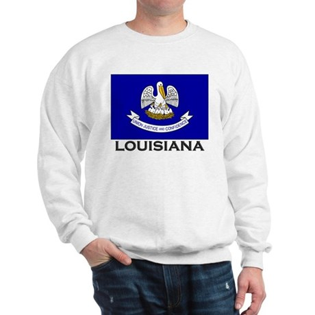 Louisiana Flag Stuff Sweatshirt