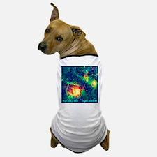 Lagoon Nebula M8 Dog T-Shirt