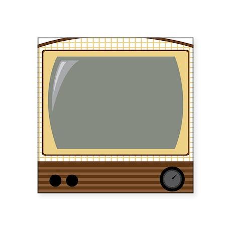 Vintage TV Sticker