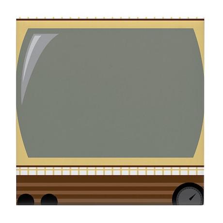 Vintage TV Tile Coaster