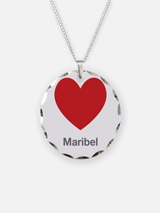 Maribel Big Heart Necklace