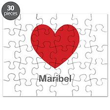 Maribel Big Heart Puzzle