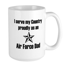 AF Dad Proudly Serve Mug