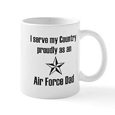 AF Dad Proudly Serve Mug