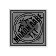 Molon Labe Silver Diamond - Square Sticker