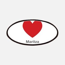 Maritza Big Heart Patches