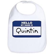 Hello: Quintin Bib