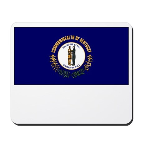 Kentucky Flag Picture Mousepad
