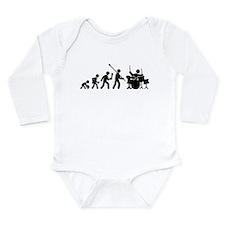 Drummer Long Sleeve Infant Bodysuit