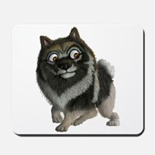 The Keeshond: A friend like no other! Mousepad