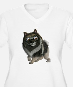 The Keeshond: A friend like no other! Plus Size T-