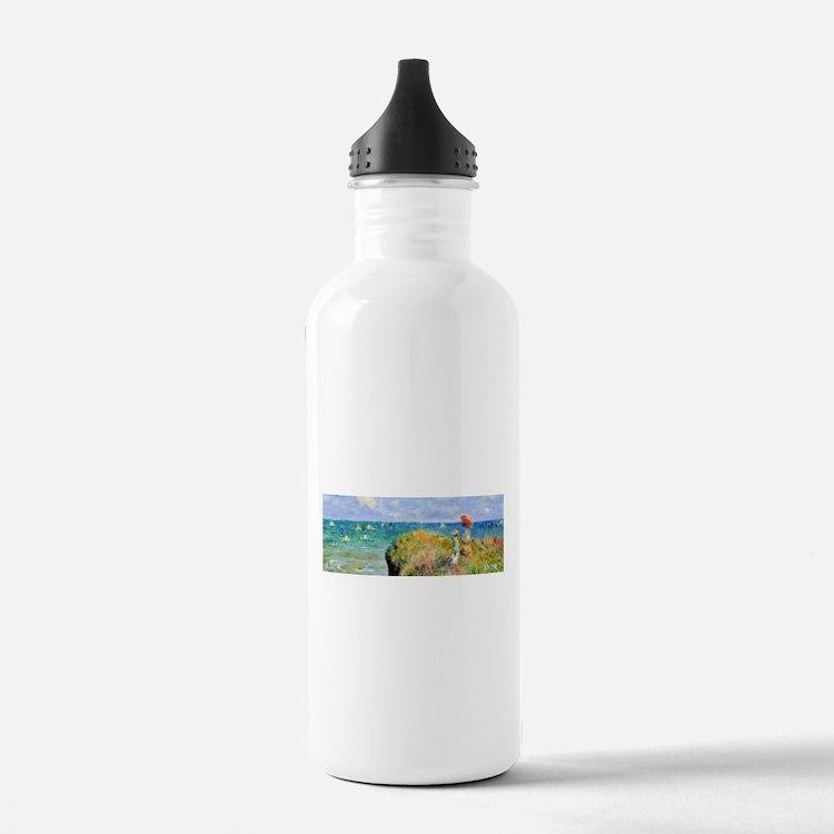 Monet Clifftop Walk Wraparound Water Bottle