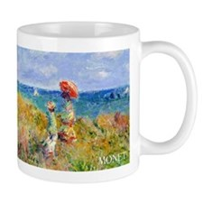 Monet Clifftop Walk Wraparound Mug