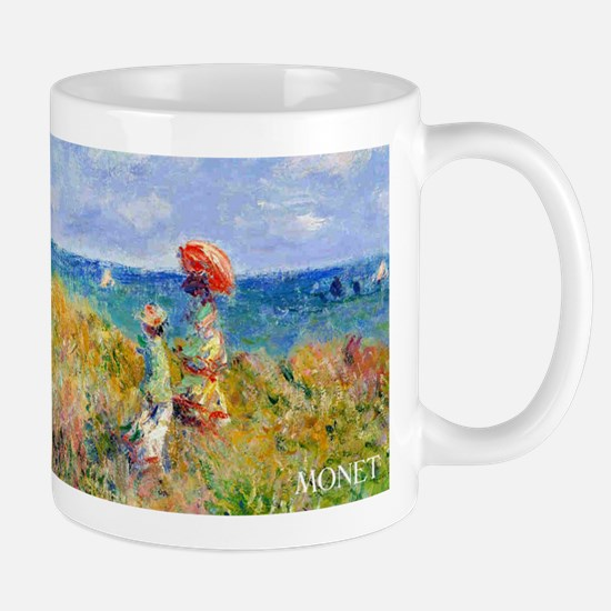 Monet Clifftop Walk Wraparound Mug