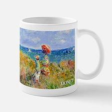 Monet Clifftop Walk Wraparound Small Small Mug