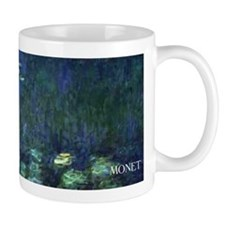 Waterlilies by Monet wraparound Small Mug