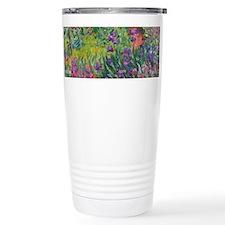 Monet Iris Garden Wraparound Travel Mug